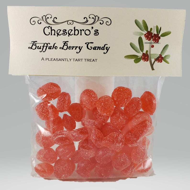 Old-Fashioned Buffalo Berry Candy