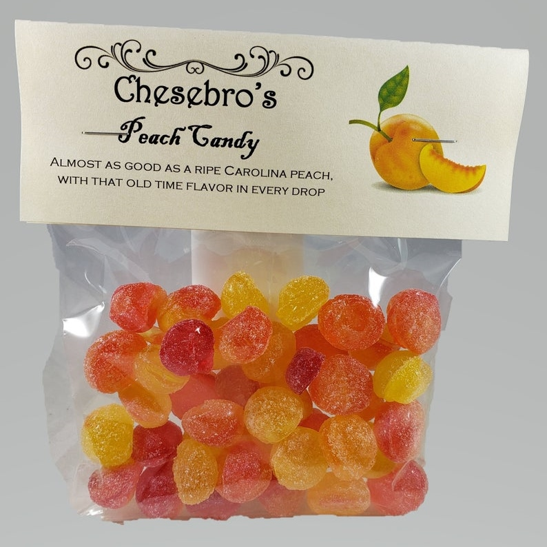 Old-Fashioned Peach Candy
