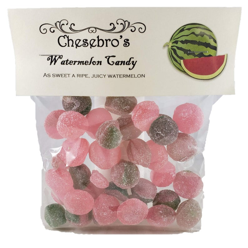 Old-Fashioned Watermelon Candy