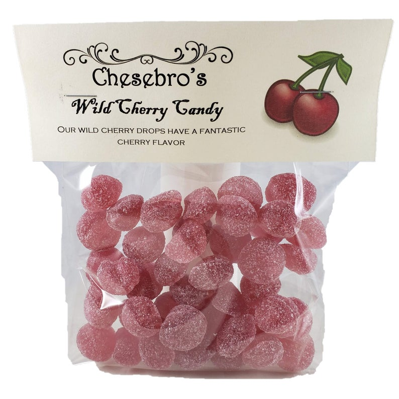 Old-Fashioned Wild Cherry Candy