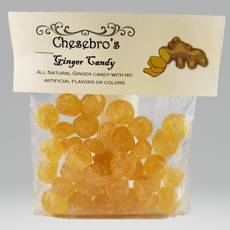 Ginger Old-Fashioned Hard Candy