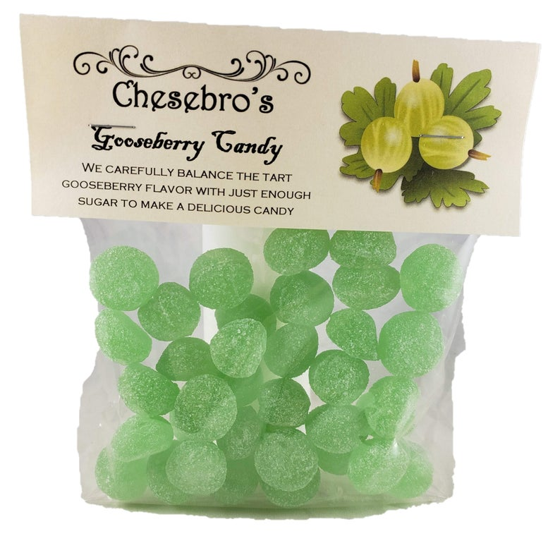 Old-Fashioned Gooseberry Candy