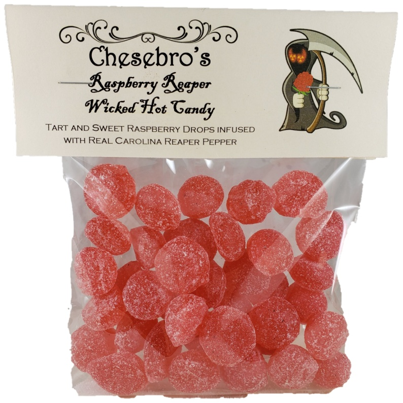 Raspberry Reaper Spicy Hard Candy Drops