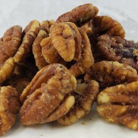 Cayenne Candied Pecans