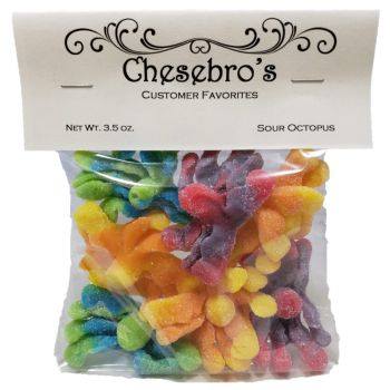 Sour Octopus Gummy
