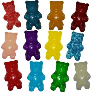 Grey Goose (Any Flavor) infused giant gummy bear