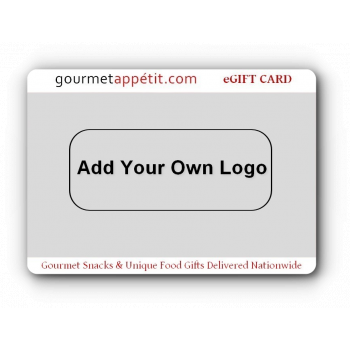 Add Your Own Logo and Custom Message eGift Card