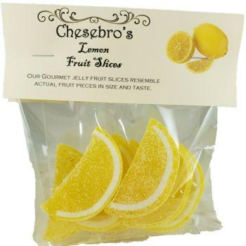 Gourmet Lemon Flavor Jelly Fruit Slices