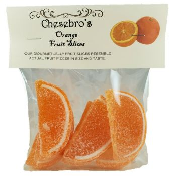 Gourmet Orange Flavor Jelly Fruit Slices